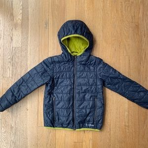 LL Bean boys Primaloft Winter Coat